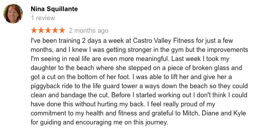 Castro Valley Personal Training